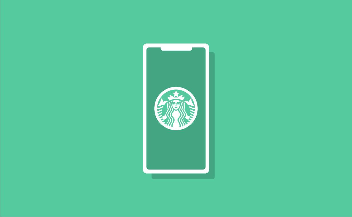 Starbucksのアプリをリデザインしてみた!UIデザイン