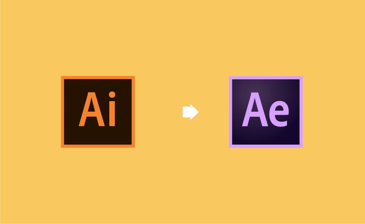 Illustrator から After Effectsにインポートする方法