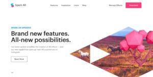 Spark AR公式サイト