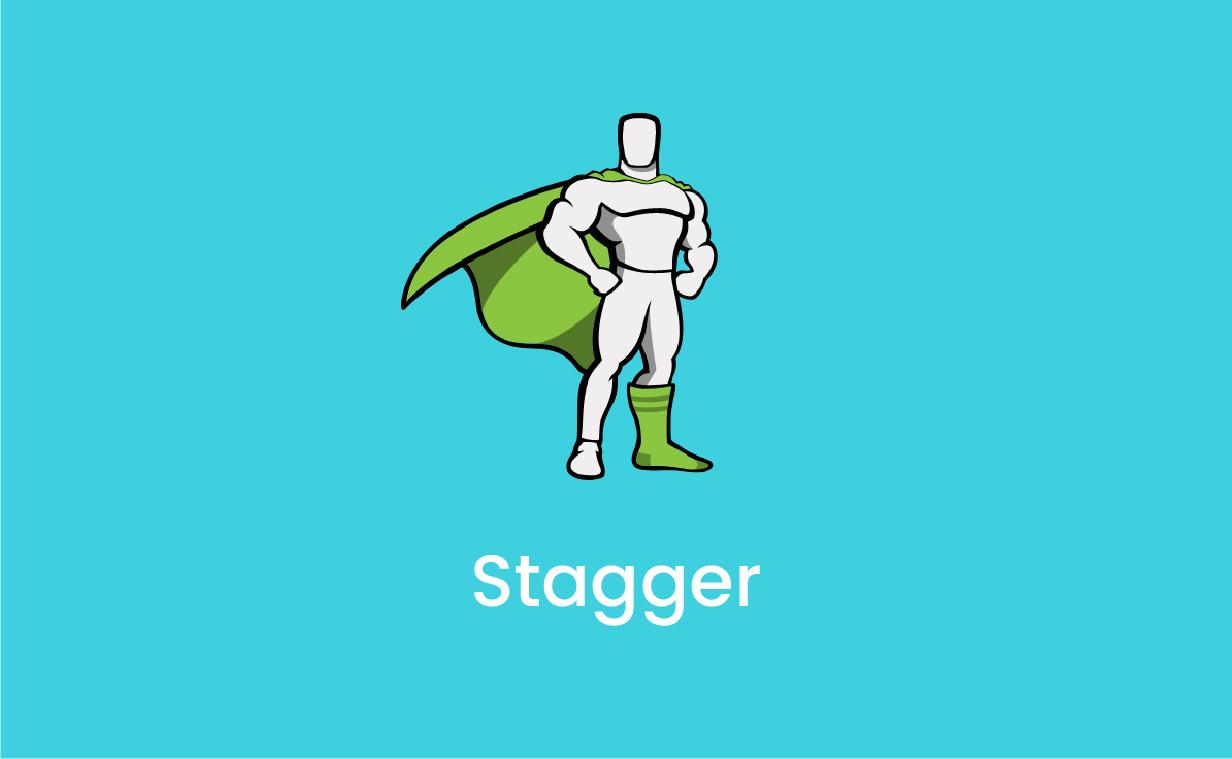 GSAP Staggerの基本的な使い方