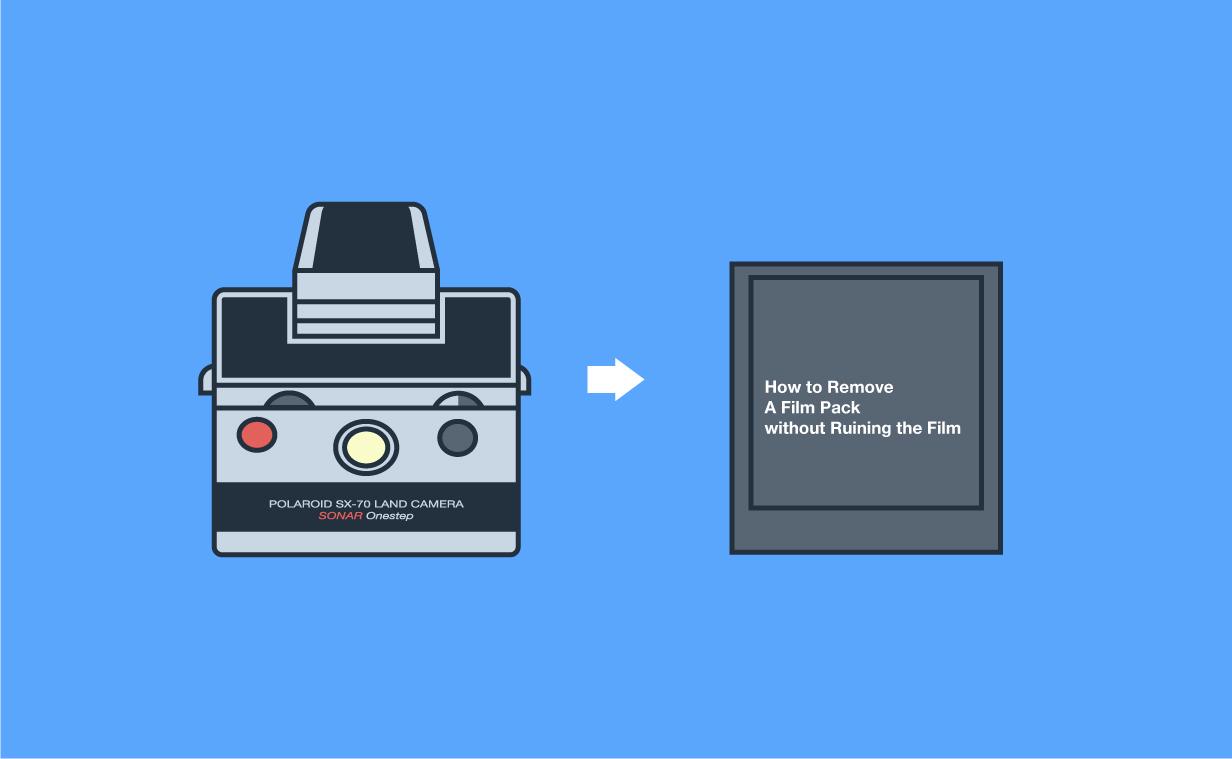【ポラロイド】フィルムを台無しにしないで途中で取り出す方法!